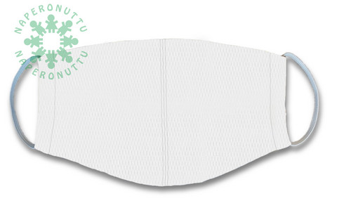 Face mask. White. Coolmax fresh, special polyester