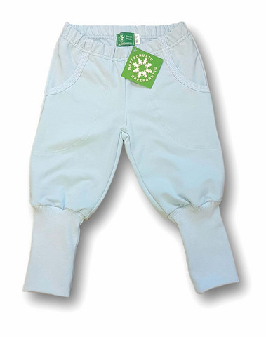Pants, light blue. College (French terry), organic cotton