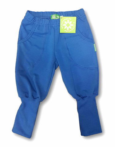 Pants, dark blue. College (French terry), organic cotton