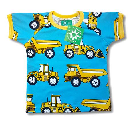 Loaders, short sleeve shirt. Jersey, organic cotton