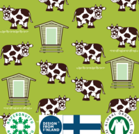 Cows. Jersey, Organic Cotton