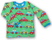 3Cars, long sleeve shirt. Jersey, organic cotton