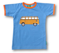 Bus, short sleeve shirt, jersey