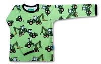 Forest machine, long sleeve shirt. Jersey, organic cotton