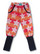 Star stribes pants red , long rib, stretch college