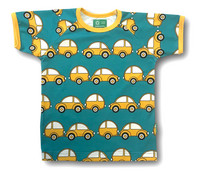 Caravan, short sleeve shirt. Jersey, organic cotton