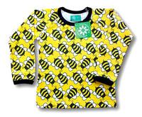 Bee, long sleeve shirt. Jersey, organic cotton