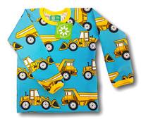 Loaders, long sleeve shirt. Jersey, organic cotton