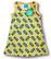Bee. Sleeveless dress. Jersey, organic cotton