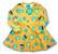 Peach. Bell dress. Jersey, organic cotton