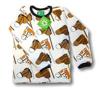 Hobby horse, long sleeve shirt. Jersey, organic cotton