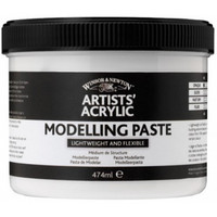W&N Artists Acrylic Modelling paste 474ml