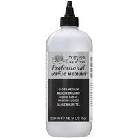 W&N Artists Acrylic Gloss Medium 500ml