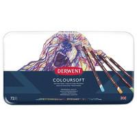 Derwent Coloursoft -värikynät, 72 kpl