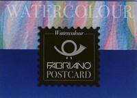 Postikorttilehtiö Fabriano vesiväreille 300g