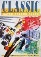 Akvarellilehtiö Classic A2 250g 20 arkkia