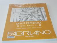 Fabriano taiteilijapaperi A3 120g 100 arkkia