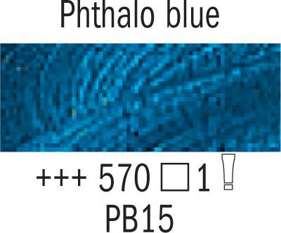 Van Gogh.40ml 570 Phthalonsininen