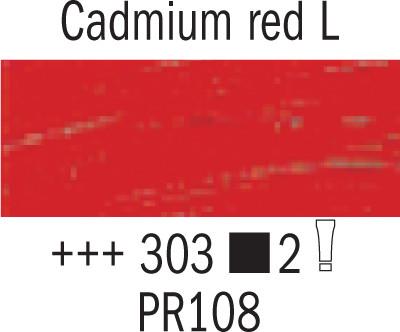 Van Gogh 303 kadmium punainen light 200ml