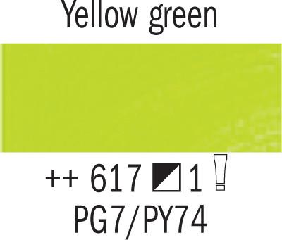 Van Gogh 617 Keltavihreä 200 ml