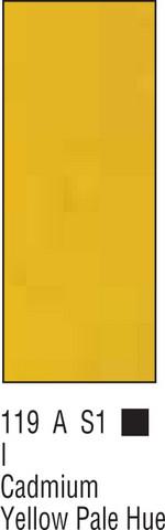 W&N Winton 37ml 119 Vaalea kadmiumin keltainen (hue)