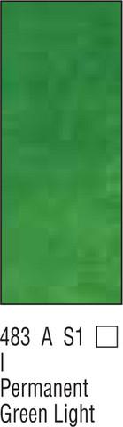 W&N Winton 37ml 483 Pysyvä kevyt vihreä