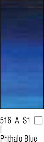 W&N Winton 37ml 516 Phthalo sininen