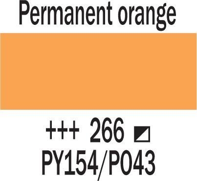 Cobra Study 40ml 266 Pysyvä oranssi