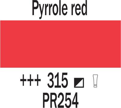 Cobra Study 40ml 315 Pyrolin punainen