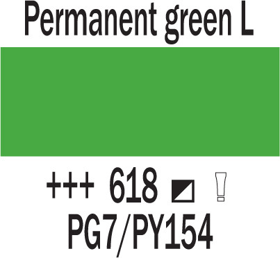 Cobra Study 40ml 618 Pysyvä vihreä L