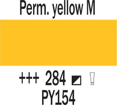 Cobra Study 200ml 284 Pysyvä keltainen M