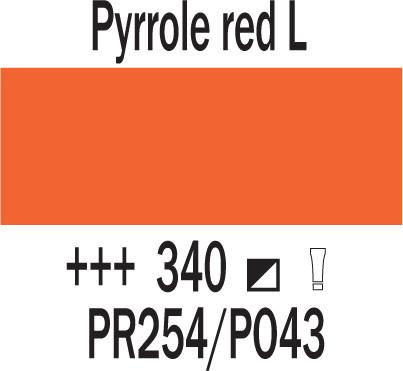 Cobra Study 200ml 340 Pyrolin punainen L