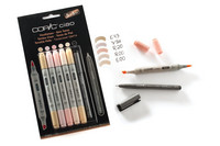 Copic Ciao 5+1 Skin tones
