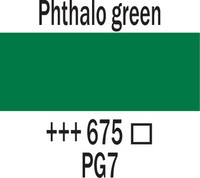 Amsterdam 120ml 675 phthalo vihreä