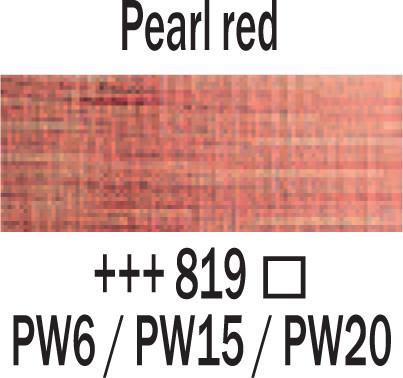 Amsterdam 120ml 819 helmiäis punainen