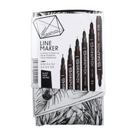 Derwent Graphik line maker 6 black
