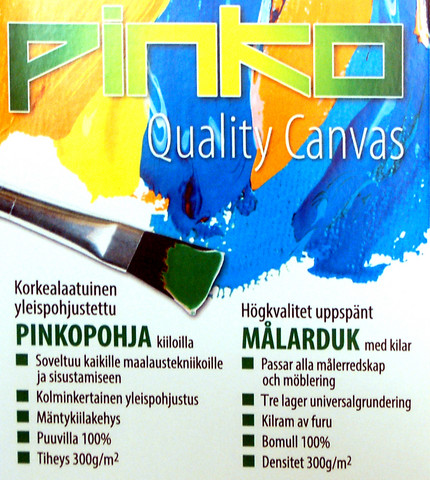 3kpl Pinko maalauspohja F6 33x41 cm 300g