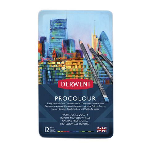 Derwent Procolour 12 artistivärikynää
