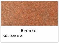 White Nights akvarellinappi 963 Bronze