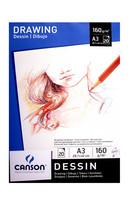 Piirustuslehtiö Canson Dessin A3 160g 20 sivua
