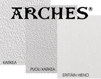 5kpl Arches 640g sileä 56 x 76cm