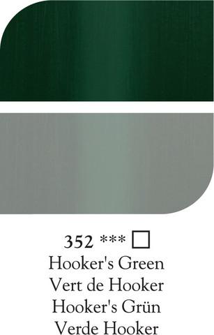 DR Georgian öljyväri 38ml 352 Hooker's green