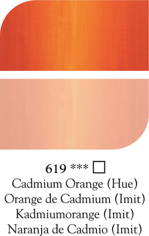 DR Georgian öljyväri 38ml 619 Cadmium orange (hue)
