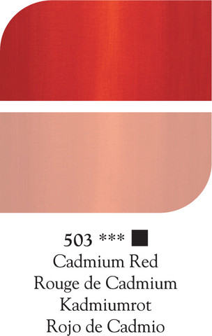 DR Georgian öljyväri 38ml 503 Cadmium red*
