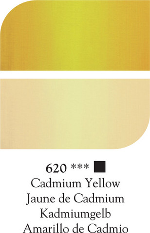 DR Georgian öljyväri 38ml 620 Cadmium yellow*