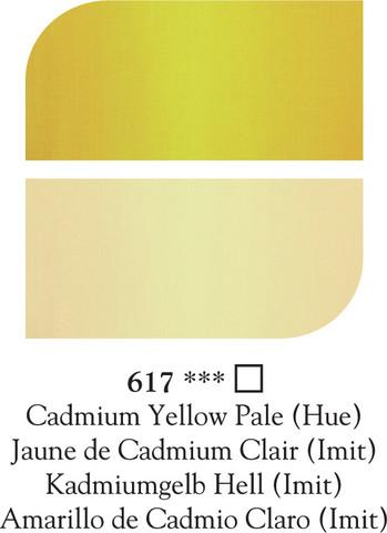 DR Georgian öljyväri 38ml 617 Cad yellow pale(hue)