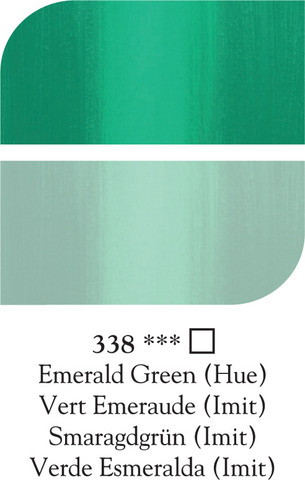 DR Georgian öljyväri 38ml 338 Emerald green (hue)
