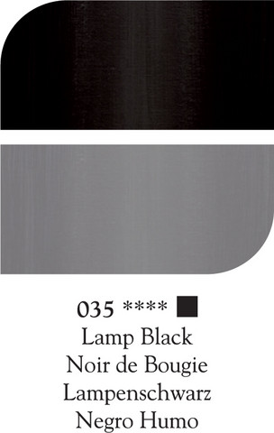 DR Georgian öljyväri 38ml 035 Lamp black