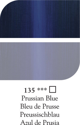 DR Georgian öljyväri 38ml 135 Prussian blue