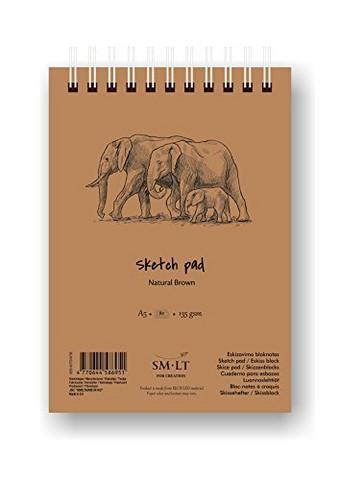 Luonnoslehtiö SMLT A4 135g 80 sivua